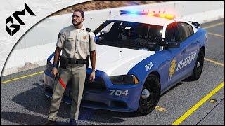 GTA 5 - LSPDFR - Trafic de drogue - Poursuite a moto - Patrouille 14