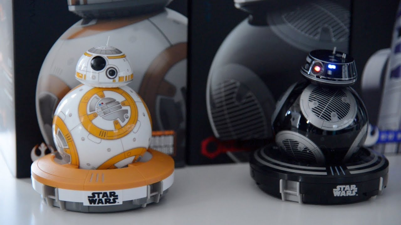 d6f71a8b52bd Sphero's Star Wars BB-8 and the new BB-9e and R2-D2 toy robots - YouTube
