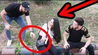 مقلب السرقة بصديقتي وماتت من الصدمة #عمر-زكي!!