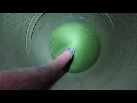 20 inch brush cleaning with negative air assistance.  Toledo Duct Clean