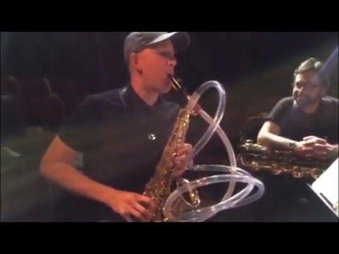 """Playing Ken Ueno's """"Hookah"""" Sax"""