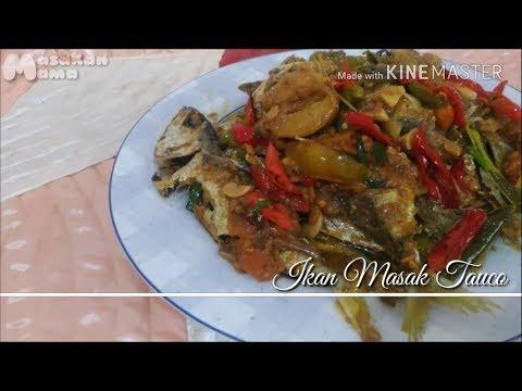 Fish fry with Tauco Sauce (Eng Sub) || Resep Ikan Masak Tauco Lezat