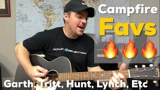 Download 7 Campfire Favorites | Garth, Sam Hunt, Thompson Square, Lynch, Tritt, & More Mp3 and Videos