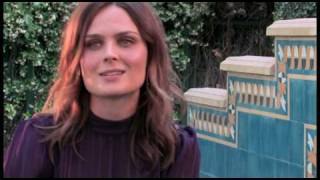 "Emily Deschanel Interview at ""Nights At The Round Table"""