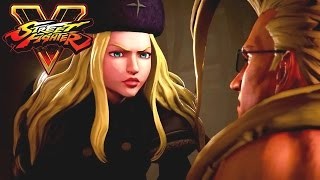 Street Fighter 5 Movie: A Shadow Falls All Cutscenes (Game Movie) 1080p 60FPS HD