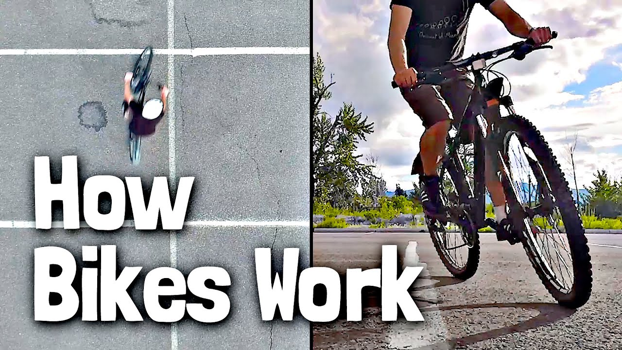 The Counterintuitive Physics Of Turning A Bike Youtube