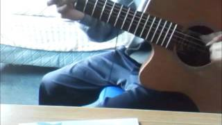 Sunflower (Capo on 2nd fret) - Guitar