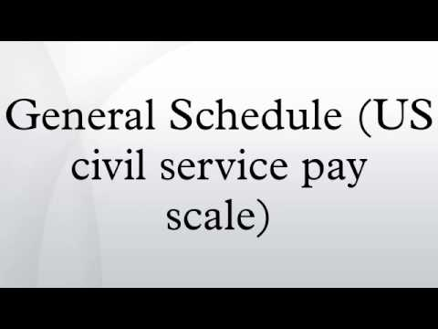 General Schedule (US Civil Service Pay Scale)