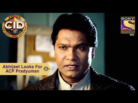 Your Favorite Character | Abhijeet Looks For ACP Pradyuman | CID