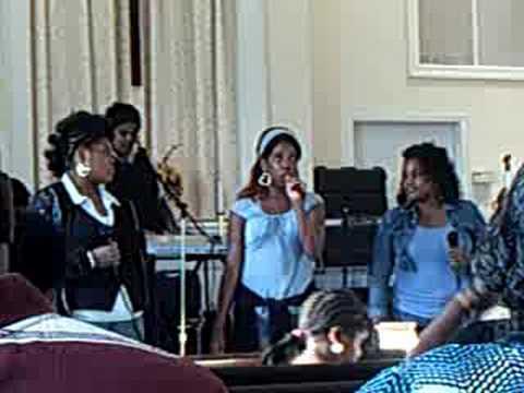 DG4 Christ singing Clark Sisters INSTRUMENT OF Praise PT 1