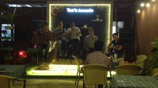 Tôi chưa có mùa xuân cover by Tèo's Acoustic Band