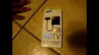 HDMI HDTV adapter Samsung Galaxy Tab 2 10 1 part1