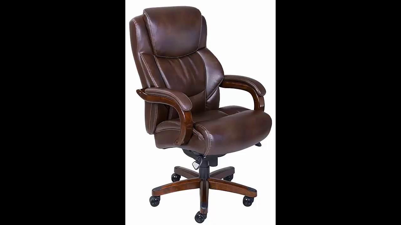 La Z Boy Delano Big U0026 Tall Executive Bonded Leather Office Chair
