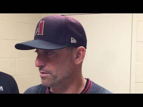 ARI@SD: Lovullo on dominating eight-run 1st inning