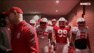 Nebraska Spring Football Tunnel Walk 2018