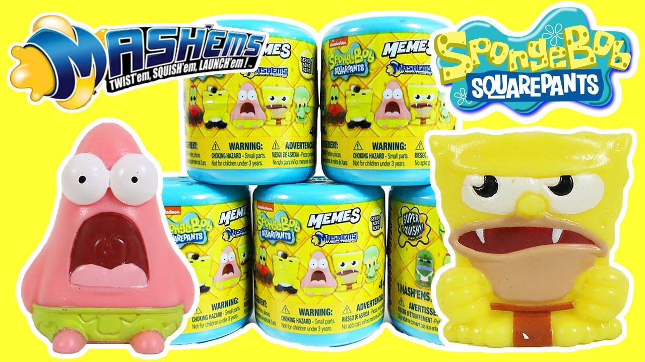 Spongebob squarepants mashems memes