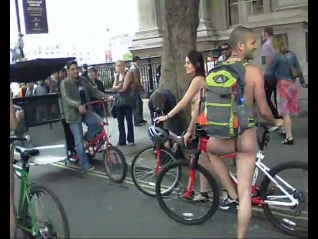WNBR - World Naked Bike Ride London 2011 - A Rider's View