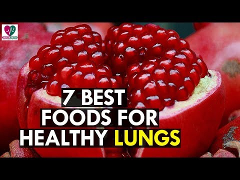 Best 7 Foods to Keep Your Healthy Lungs