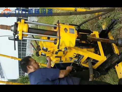 Water Well Core Drilling Machine