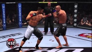 UFC Undisputed 2010 Gameplay Walkthrough Part 13 - Career Mode (Xbox 360/PS3) [HD]