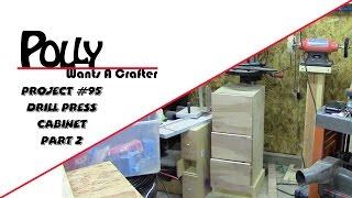 Drill Press Cabinet 2