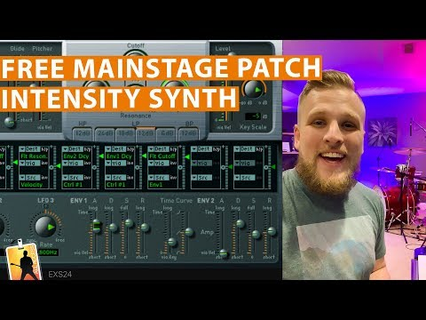 Free MainStage Worship Patch! - Intensity Synth Pad with Attack