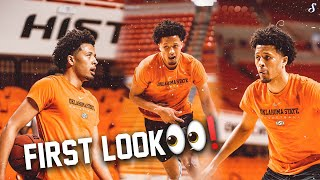 First Look at tнe Projected 2021 #1 Pick Cade Cunningham | Oklahoma State Open Practice | 10.15.20