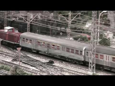 Modelleisenbahn H0 – Model Railway Altburg – In Motion