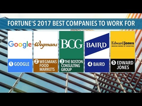 Fortune reveals 100 best companies to work for