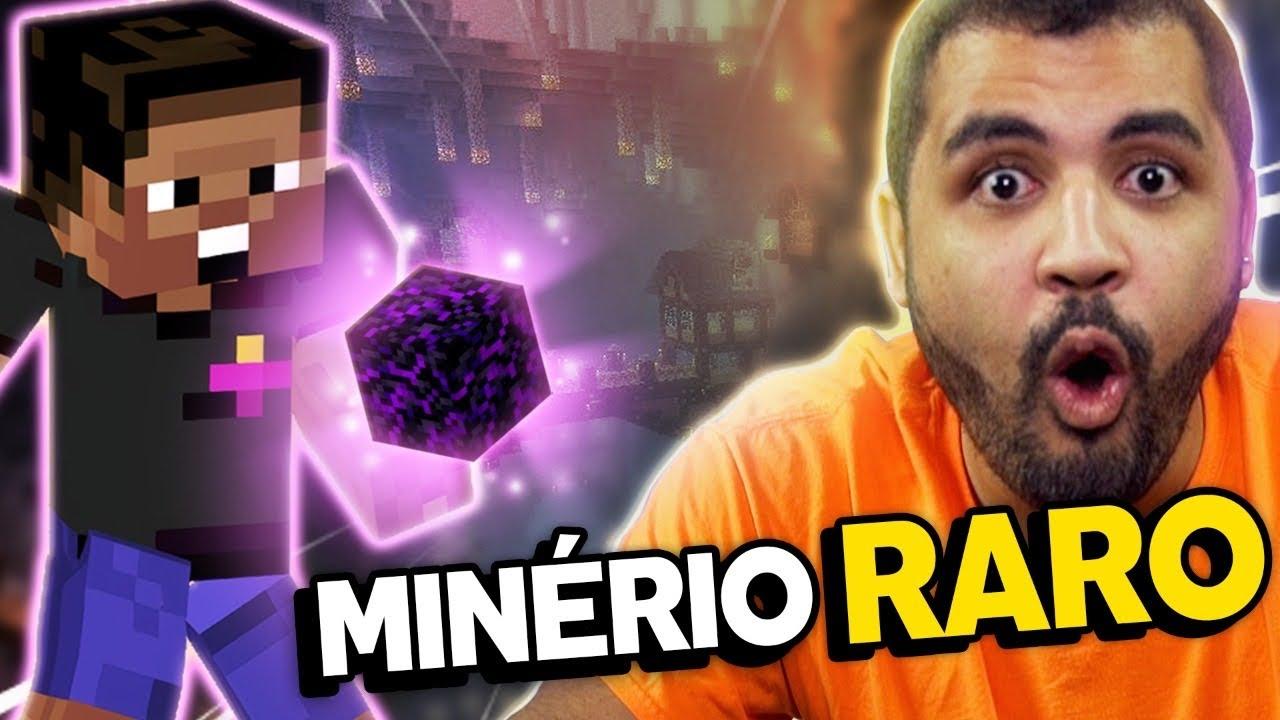 ENCONTRAMOS UM MINÉRIO ULTRA RARO! - MINECRAFT #11