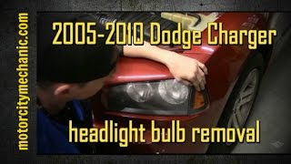 2005-2010 Dodge Charger headlight bulb