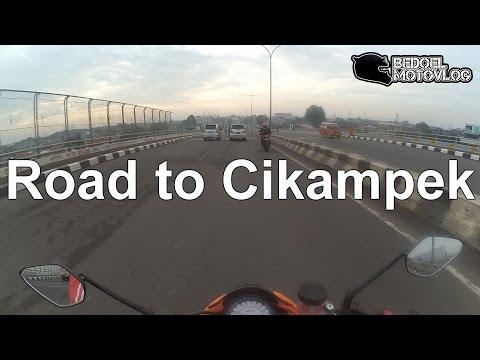 Makan Sate Naik Moge ke Cikampek - Cerita Kunci Utih Hilang | Moge Masuk Tol? | #MotoVlog Indonesia
