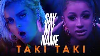 SAY MY NAME x TAKI TAKI [Mashup] | David Guetta,DJ Snake,Bebe Rexha, S.Gomez,Cardi B,Ozuna,J Balvin