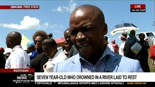 Seven-year-old who drowned in Qwaqwa laid to rest