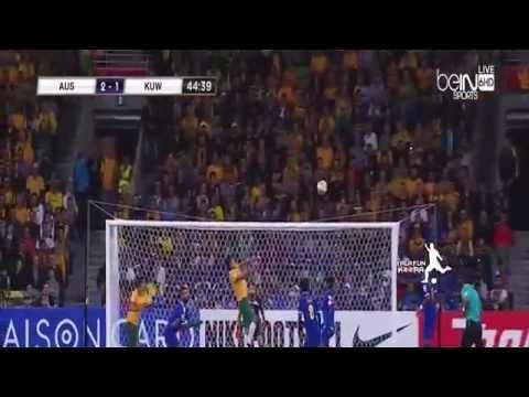 アジアカップ |  オーストラリア4-1クウェート | 開幕戦