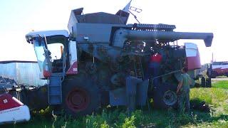 108-Д.(2д уборки).Ремонт АКРОС-530,УАЗ.Пшеница 30 га, ДОН-1500Б,ПАЛЕССЕ GS-12,МАЗ-5551