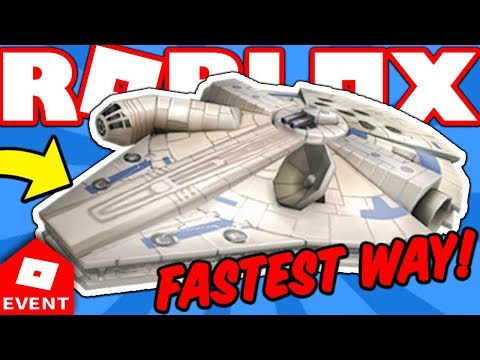 HOW TO GET MILLENNIUM FALCON FAST! *NEW* (Roblox Battle Arena Event Grand Prize)