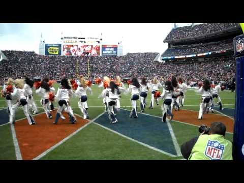 "Denver Broncos Cheerleaders perform ""Everybody Wants You"""