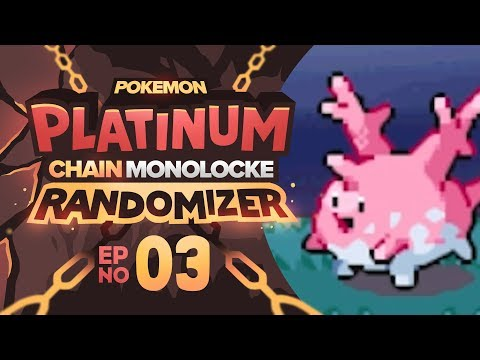 Pokemon Platinum Chain Monolocke Randomizer | Episode 03 | ACCESS TO WATER!!