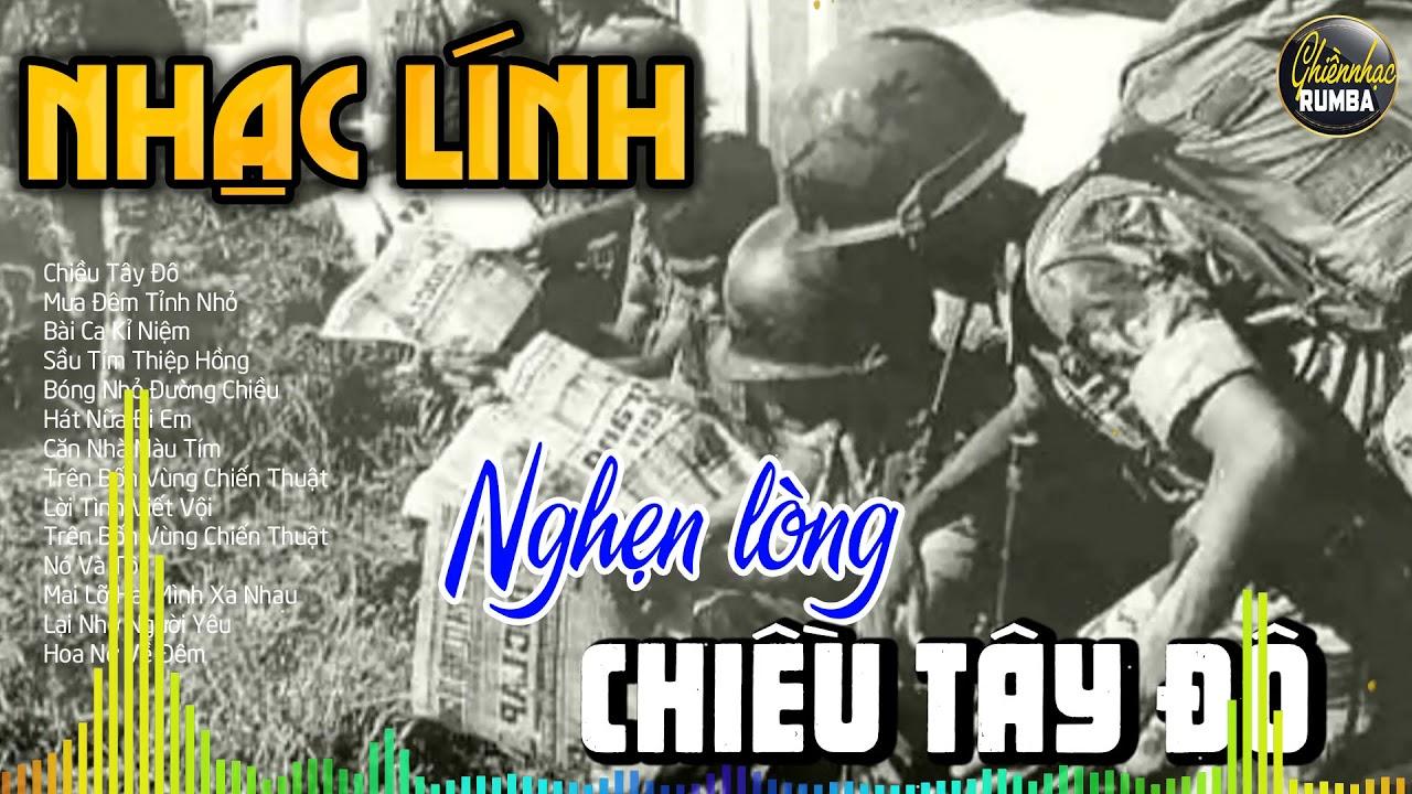 Chiều Tây Đô, Nhạc Lính Rumba Trước 1975 - LK Bolero Trữ Tình Đời Lính Nghẹn Ngào Con Tim