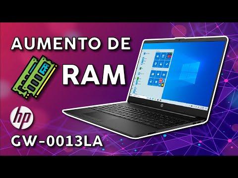 CAMBIO O AUMENTO DE RAM | HP 15 GW-0013LA | FACIL Y RÁPIDO