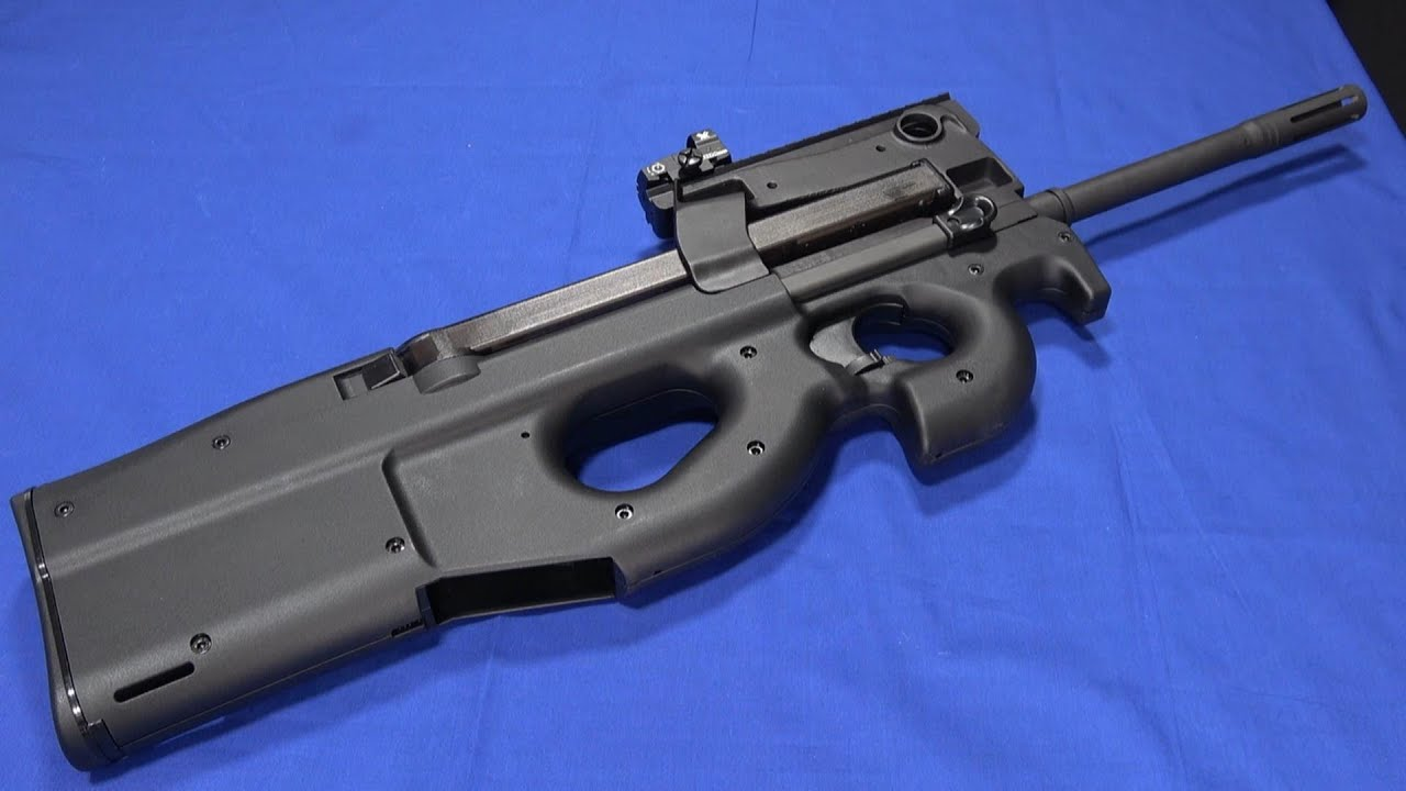 The 5.7x28 Bullpup for Everyone: FN PS90