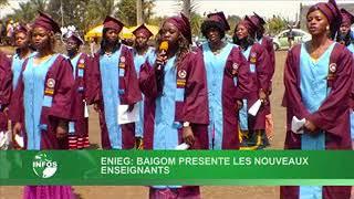 ENIEG: Baïgnom présente les nouveaux enseignants 3ème Édition de la promotion 2017/2018