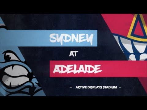 LIVE: Sydney Blue Sox @ Adelaide Bite, R10/G4