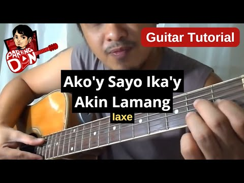 Guitar tutorial: AKO'Y SAYO IKA'Y AKIN LAMANG chords for beginners