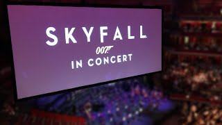 James Bond Overture - Skyfall Live in Concert - Royal Alert Hall