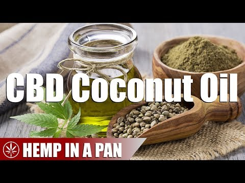 How to Make CBD Coconut Oil With Medicinal Hemp