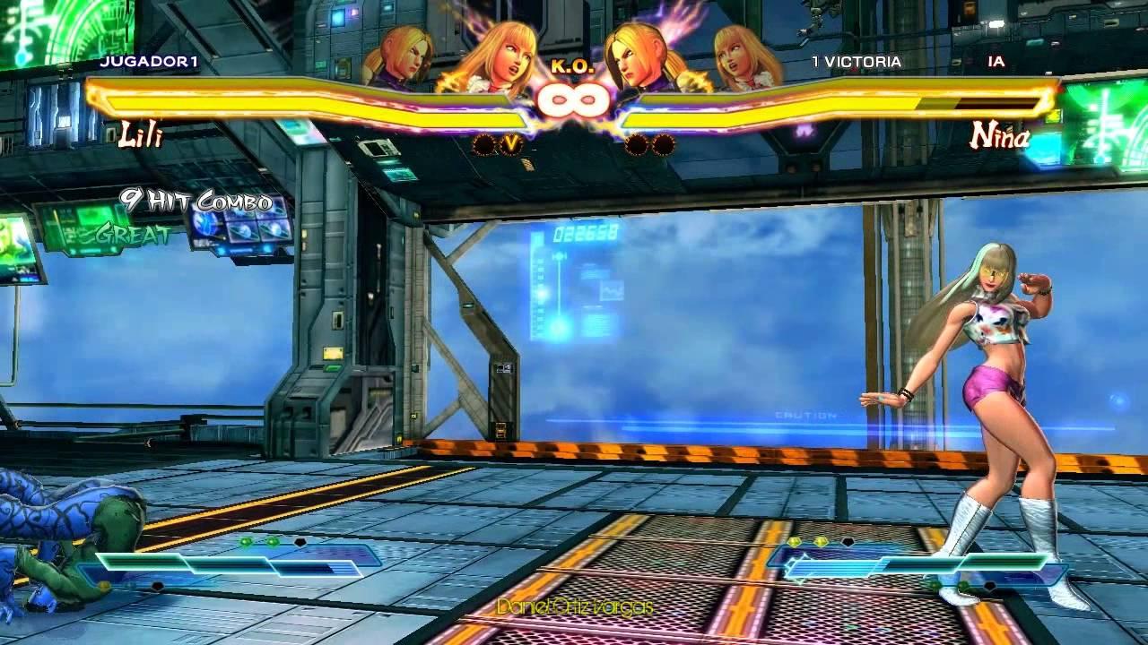 Street Fighter X Tekken - Bikini Contest: Cammy x Lili VS