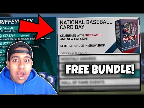 Omg We Pulled The Best Diamond July Potm Free Baseball Card Day Bundle Packs Mlb The Show 19