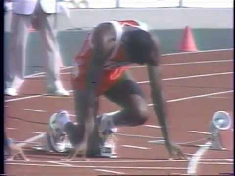 Carl Lewis, Seúl'88, 100m, 1ª ronda